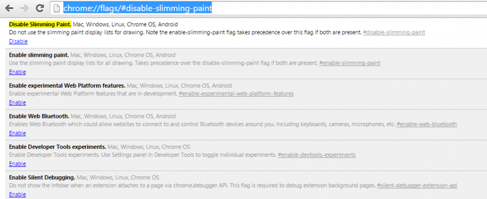 Chrome-Disable-Slimming-Paint
