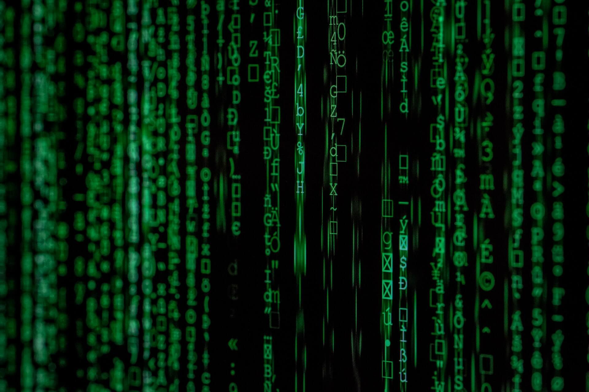 Data tech digital technology